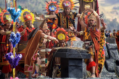 Inti Raymi Cusco, Sacsayhuamán, Coricancha