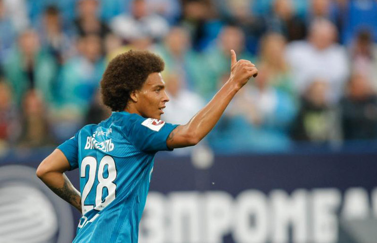 "Lucescu: ""Witsel poput Pogbe"""