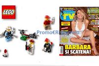 Logo TV Sorrisi e Canzoni ''Divertiti con Lego vinci LegoLand'' e set Lego
