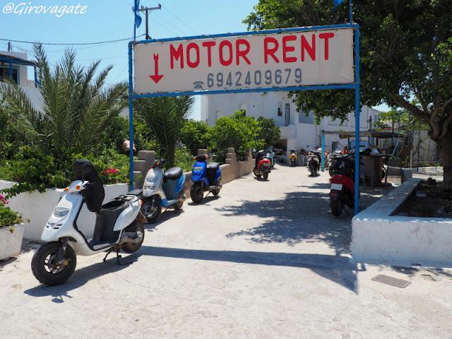Lipsi noleggio scooter