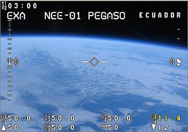 Imagenes satelite ecuatoriano pegaso son falsas