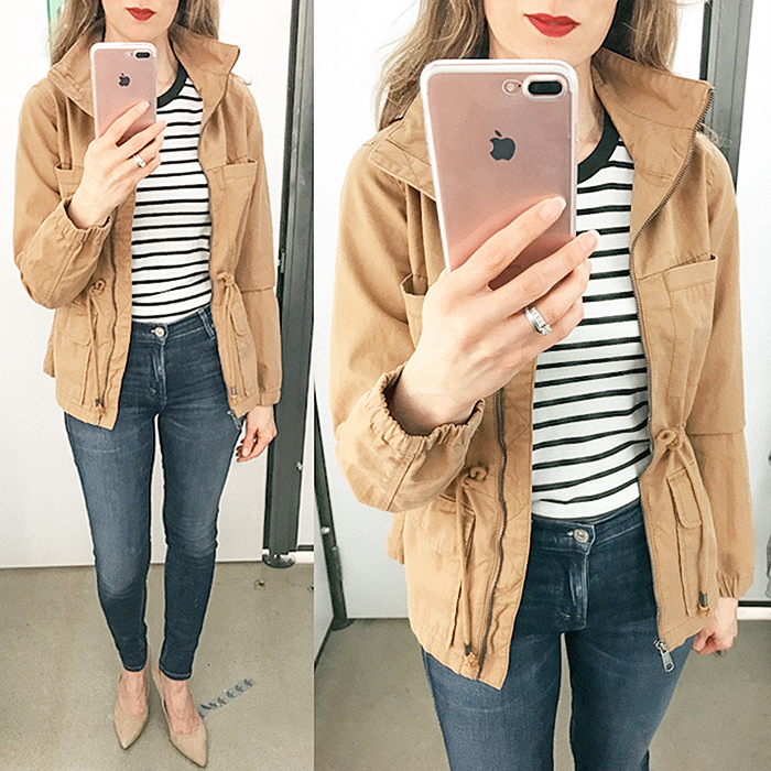 old navy, field jacket, spring jacket, old navy sales, fashion blogger