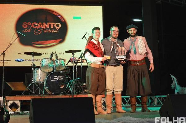 Conhecidos os vencedores do 6º Canto do Barril de Frederico Westphalen