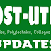 UPDATED: Check Out Higher Institutions That Have Released There  Cut Off Marks And 2021 POST UTME/DE Admission Forms Now