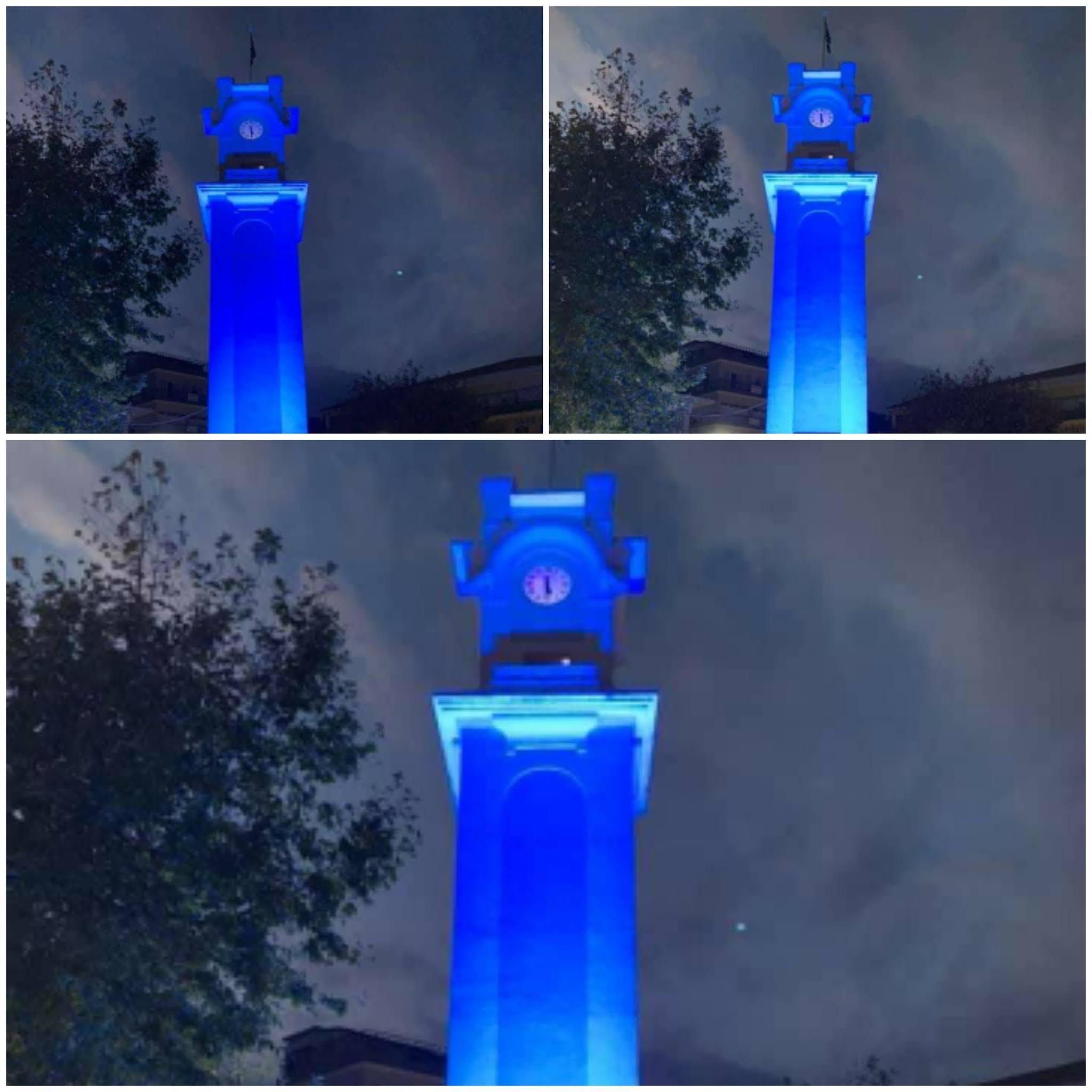 Ντύθηκε μπλε το Ρολόι στην Ξάνθη για την ημέρα του διαβήτη