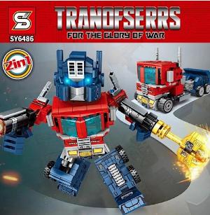 Macam Jenis Lego Robot Mulai Iron Man Sampai Transformer