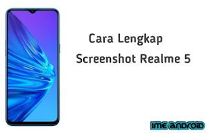 Cara Screenshot realme 5 pro