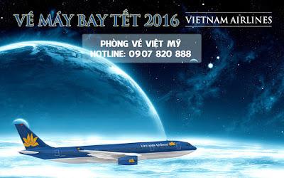 Vé máy bay Tết hãng Vietnam Airlines