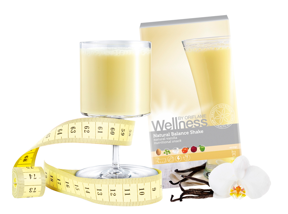 Batido de Baunilha Natural Balance Wellness by Oriflame