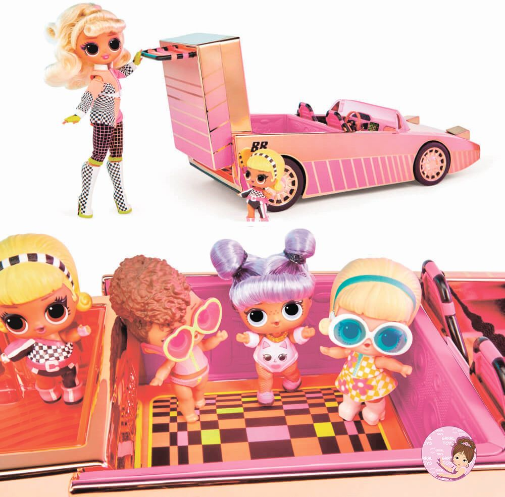 O.M.G. pink racing car new toys 2020 for girls