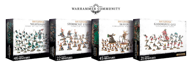 Cajas Battleforce Age of Sigmar