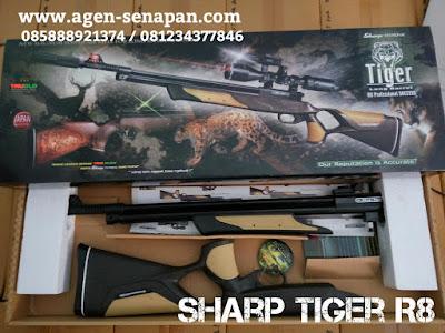 jual senapan murah berkualitas, jual senapan sharp tiger r8, jual sharp murah, j
