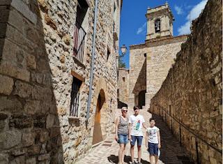 Iglesia de San Salvador de Culla, provincia de Castellón.