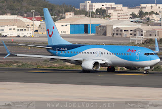 Arke / TUI Netherlands Boeing 737-800 at Las Palmas, Gran Canaria, Spain