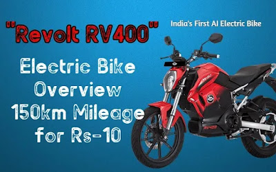 Revolt RV400 Electric Bike review