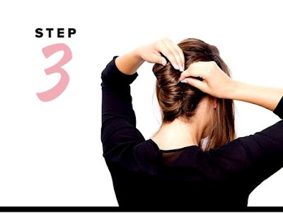 Tutorial Membuat Model Rambut Sanggul ala Pramugari ( French Twist )
