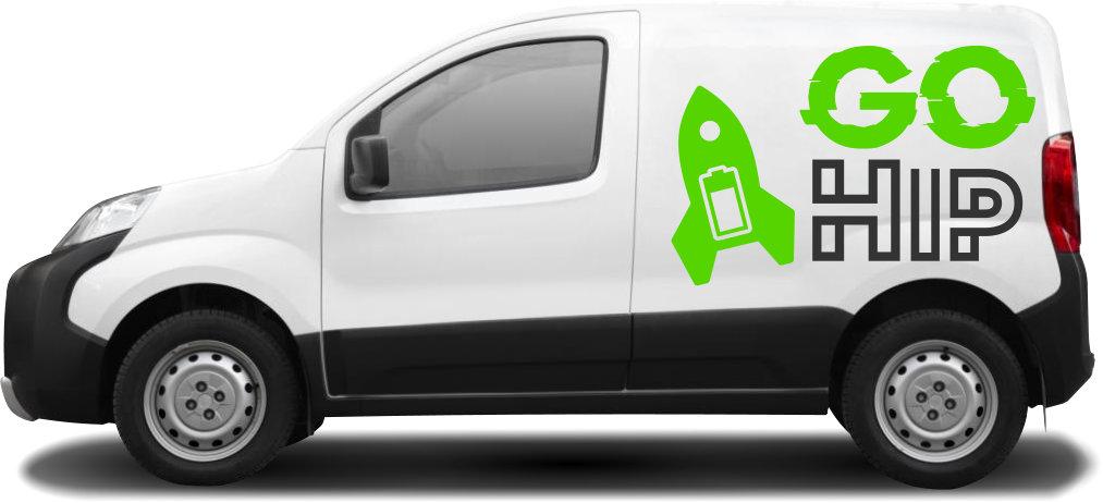 Grafiken für Fahrzeugbeschriftung