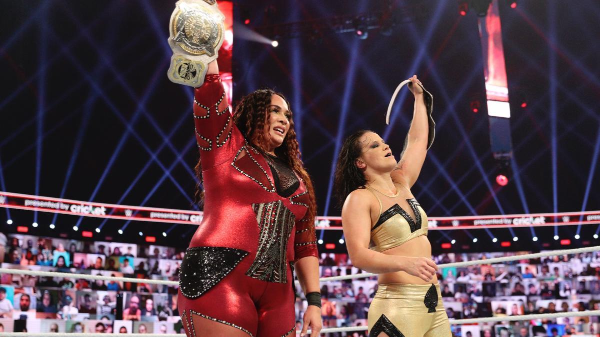 Definidas as adversárias de Nia Jax e Shayna Baszler na segunda noite da WrestleMania 37