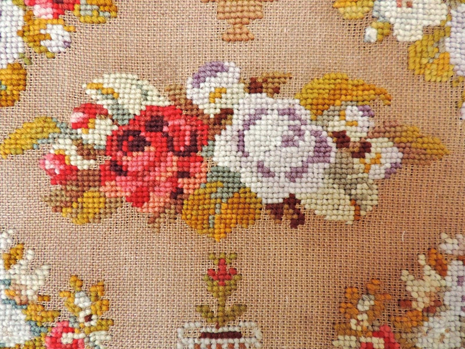 1869 sampler tapestry