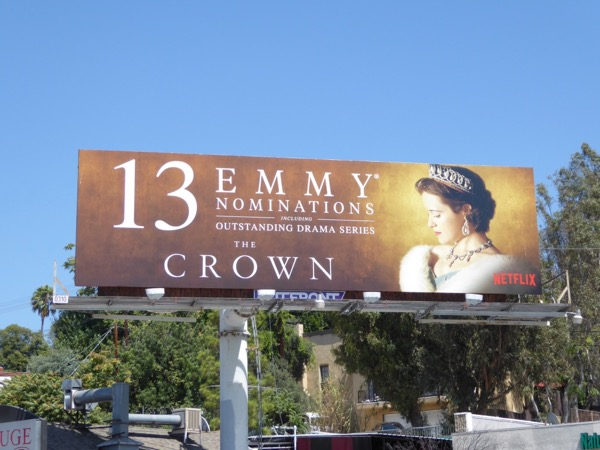 Claire Foy Crown 13 Emmy noms billboard
