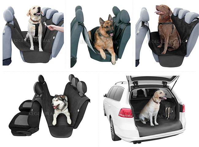 Maty dla psów do samochodu