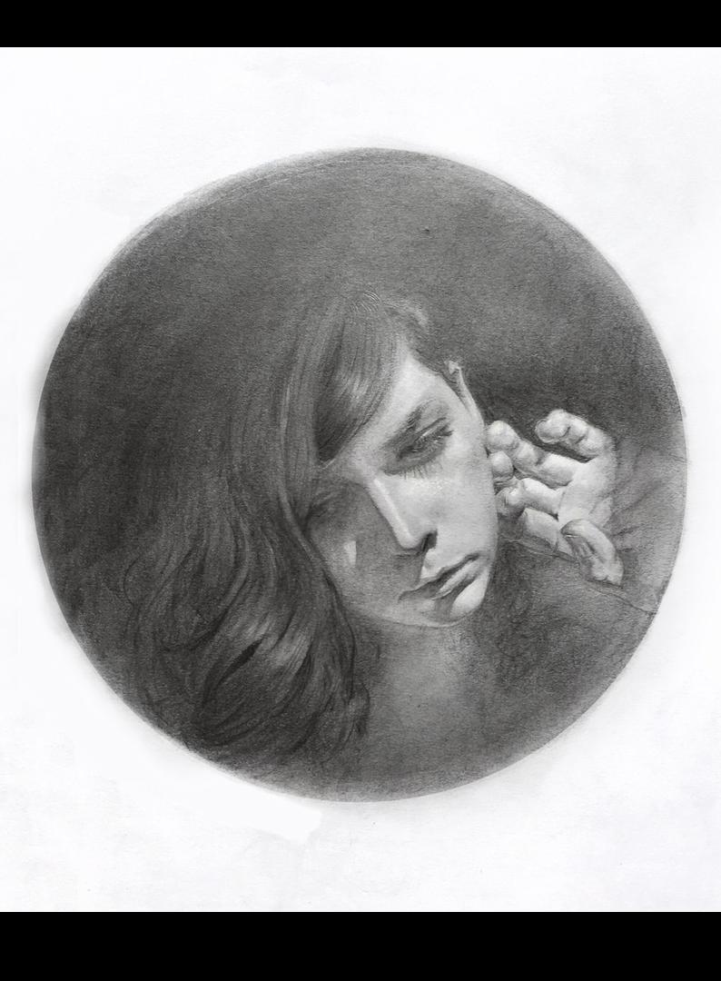 Iva K, Graphite artwork