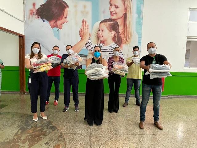 O Hospital Regional de Formosa arrecada roupas de frio para doação