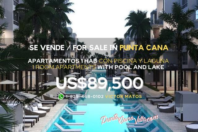 Apartamentos en Punta Cana con Playa y Piscina