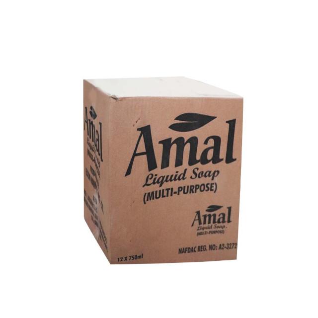 Amal Multipurpose Liquid Soap 750ml x 12