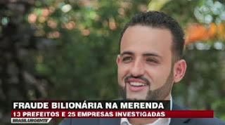 Prefeito de cidade no interior Paulista tem residência investigada e polícia encontra dinheiro de suposta fralde em merenda escolar