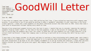 Goodwill Letter Student Loan | Cover Letter Sample For A Marketing Job