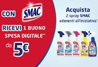 Promozione con Smac ricevi buono spesa da 5€