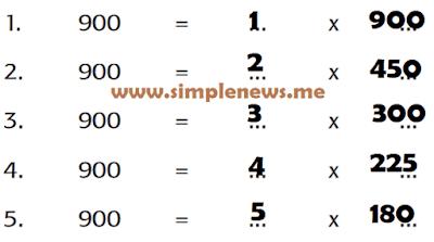 alternatif jumlah kandang yang berbeda dengan hasil kali 900 www.simplenews.me