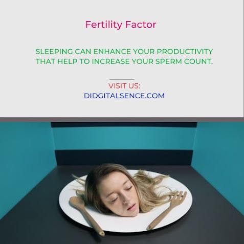 sleeping and male fertility