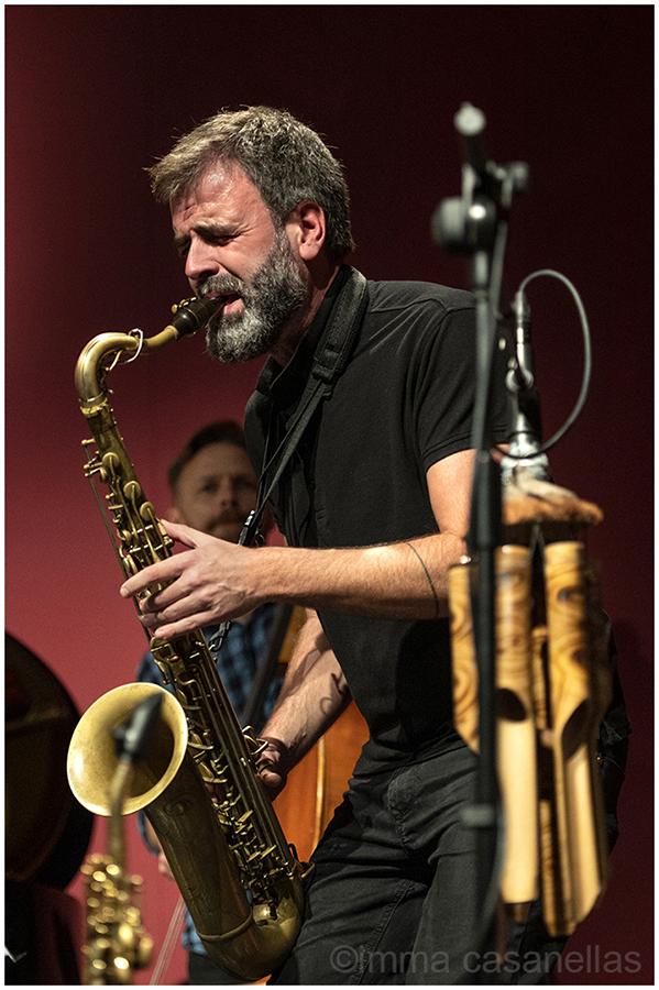 Albert Cirera amb Marko Lohikari. Auditori Vinseum, Vilafranca del Penedès, 24-oct-2020