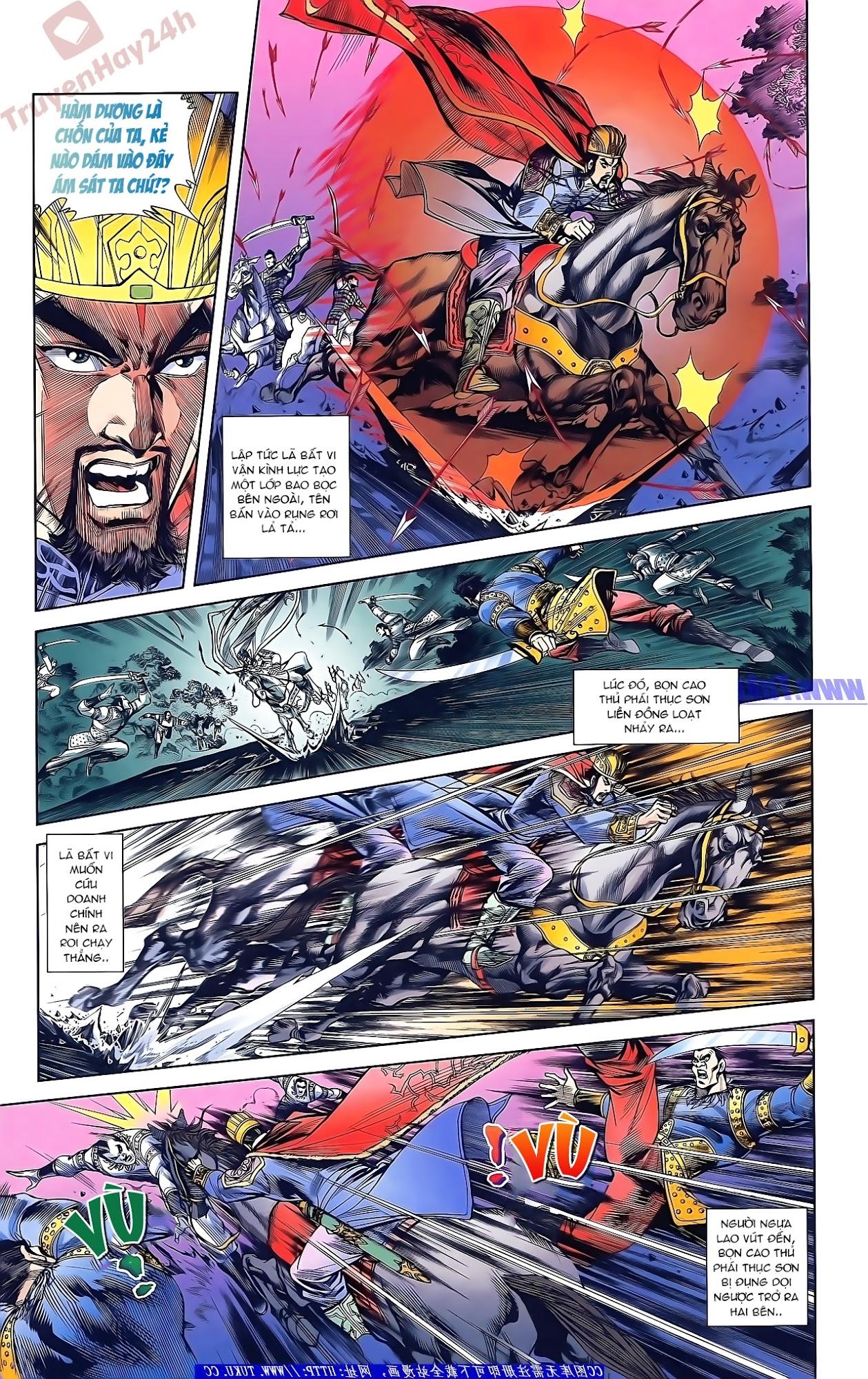 Tần Vương Doanh Chính chapter 45 trang 16