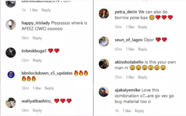 Mide Martins And Odunlade Adekola Poses As Couple, Fans React Say 'Pls Where Is AFEEZ OWO'