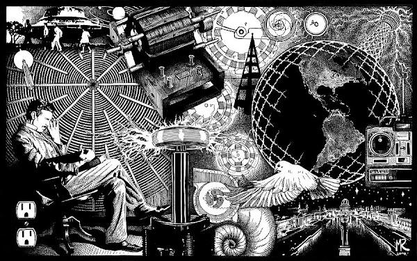 Nikola Tesla: Todos sus escritos digitalizados 1890-1943