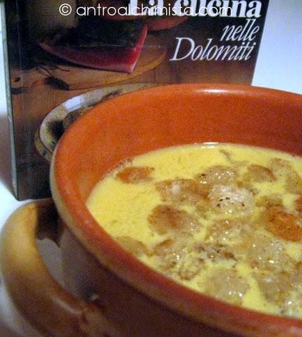 Zuppa al Vino con Crostini alla Cannella