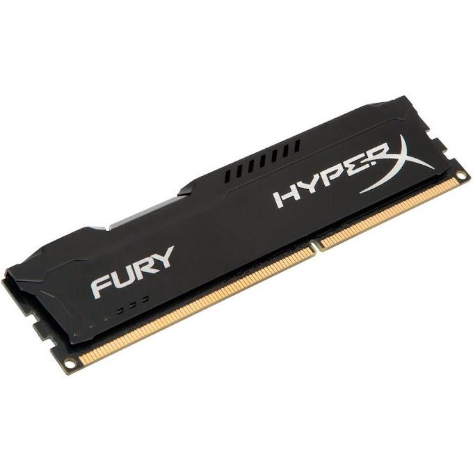 Memória RAM HyperX Fury 4GB 1866MHz DDR3 CL10 Preto - HX318C10FB/4