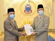 Sah Y.A.B Datuk Seri Panglima Hj. Hajiji Hj. Mohd. Noor sebagai Ketua Menteri Sabah