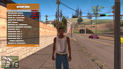 GTA San Andreas GTA V Graphics Pack 2021 Latest Update