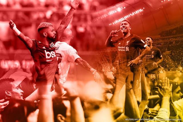 FUTEBOL: Flamengo e Liverpool na final do MUNDIAL