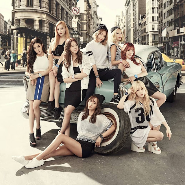 Photoshoot] SNSD - Casio Baby-G - Celebrity Photos - OneHallyu