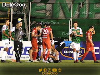Mario Cuéllar se lesiona en el partido entre Oriente Petrolero y Guabirá - DaleOoo