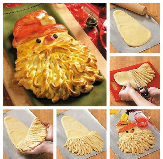 хлеб пирог новый год праздник