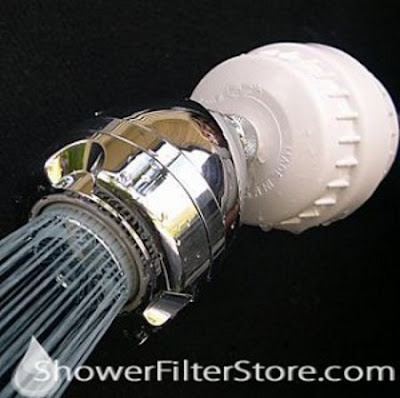 APRIL SHOWER CLASSIC 3-SPRAY FILTERED WATER SOFTENING SHOWERHEAD