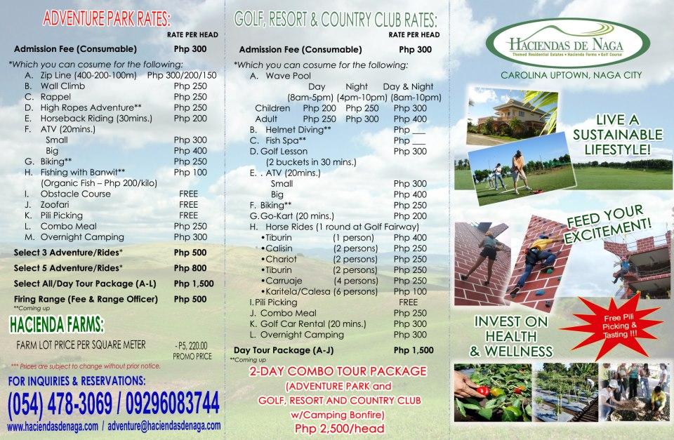 A Visit To Haciendas De Naga Adventure Park Naga City Deck
