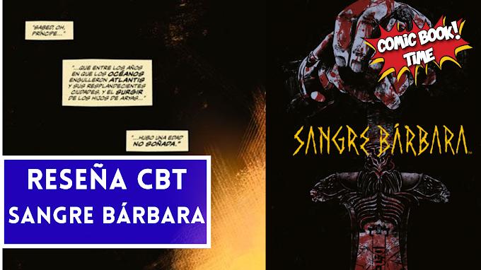 """Cómic Reseña: """"Sangre Bárbara"""", una historia de Conan el cimmerio por El Torres   Editado por Karras Cómics"""