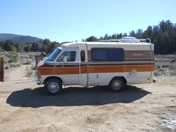 used rvs 1979 dodge brougham motorhome for sale for sale by owner. Black Bedroom Furniture Sets. Home Design Ideas